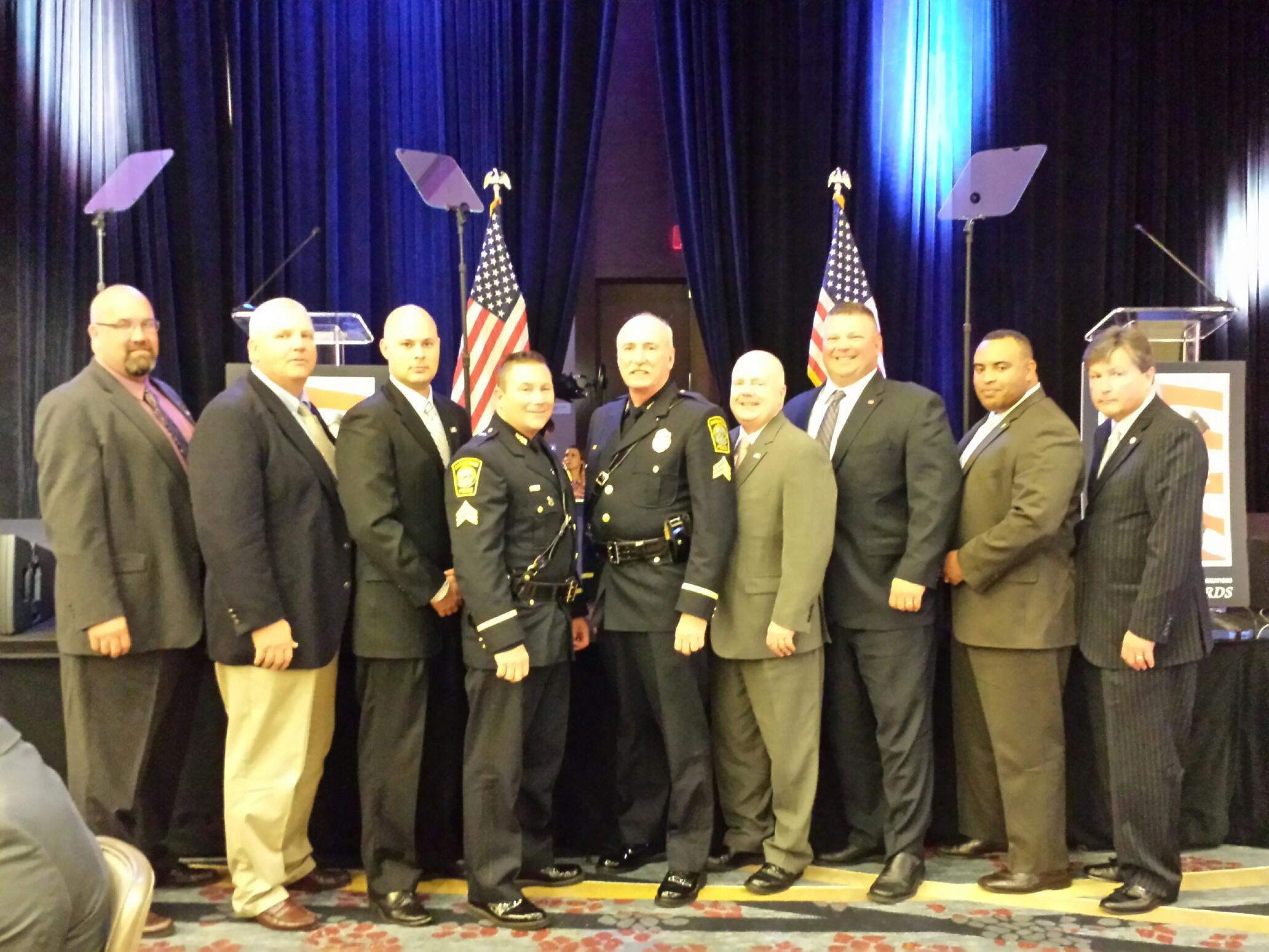 Watertown Superior Officers Receive NAPO Top Cop Award