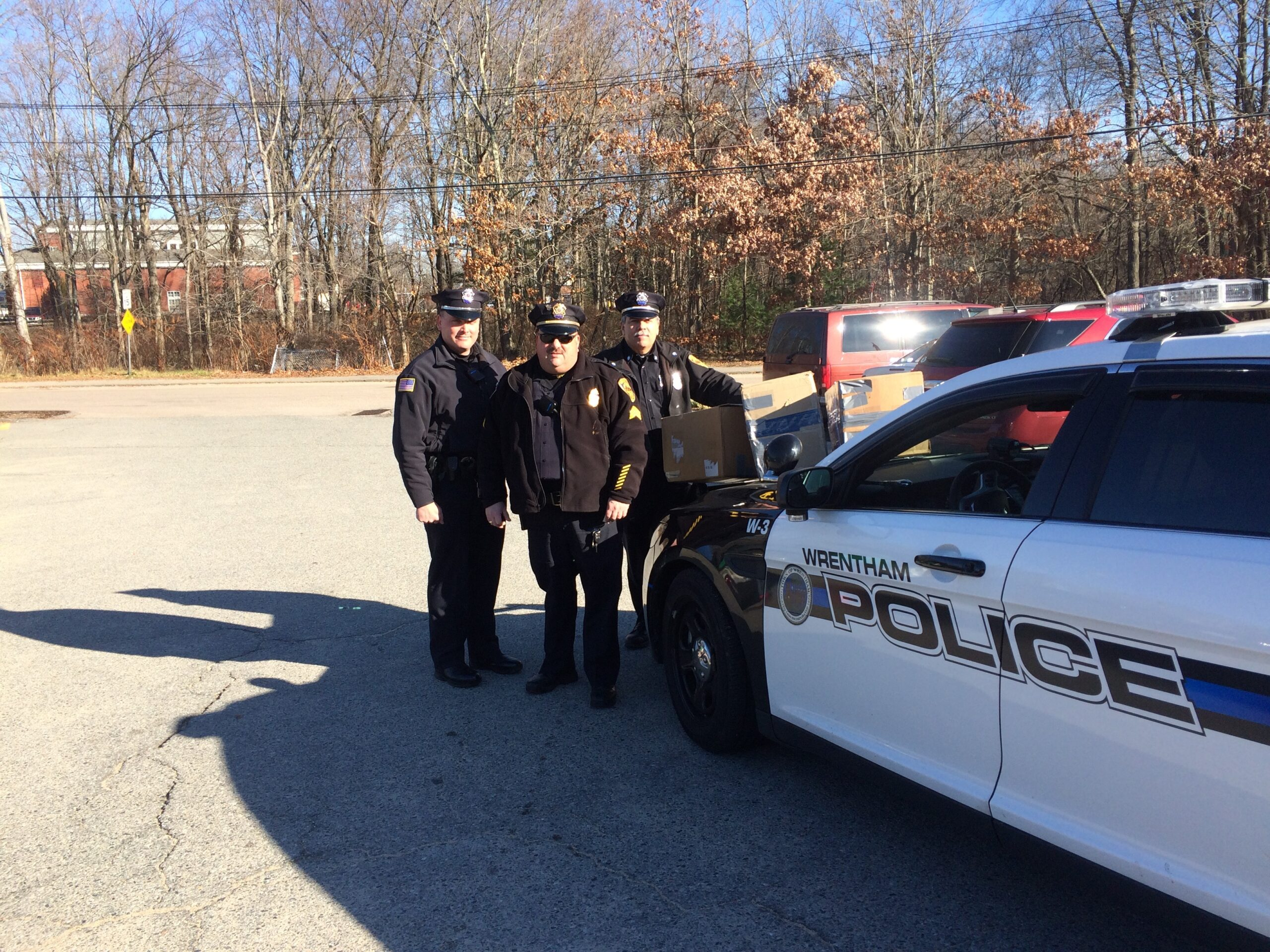 Wrentham Police Association Answers Our Call for Donations